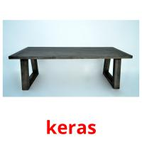 keras picture flashcards