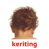 keriting picture flashcards