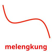 melengkung picture flashcards