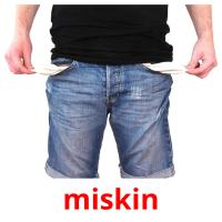 miskin picture flashcards