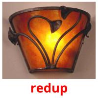 redup picture flashcards