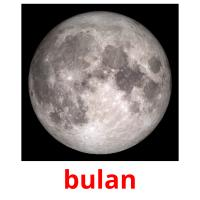 bulan picture flashcards