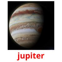 jupiter picture flashcards