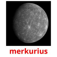 merkurius picture flashcards