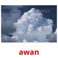 awan picture flashcards