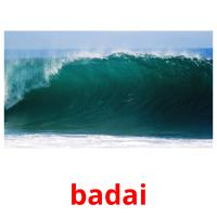 badai picture flashcards