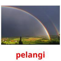 pelangi picture flashcards