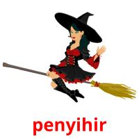 penyihir picture flashcards
