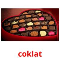 coklat picture flashcards