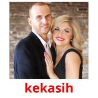 kekasih picture flashcards