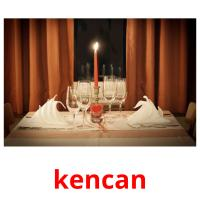 kencan picture flashcards