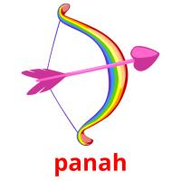 panah picture flashcards