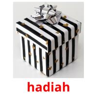 hadiah picture flashcards