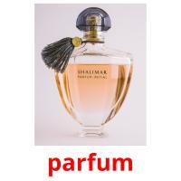 parfum picture flashcards
