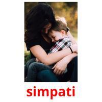 simpati picture flashcards