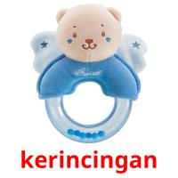 kerincingan picture flashcards