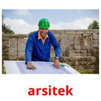 arsitek picture flashcards