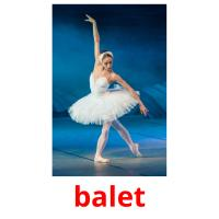 balet picture flashcards