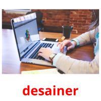 desainer picture flashcards