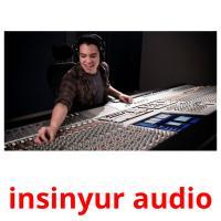 insinyur audio picture flashcards