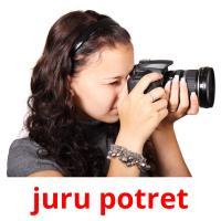 juru potret picture flashcards
