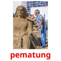pematung picture flashcards