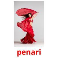penari picture flashcards