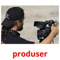 produser picture flashcards