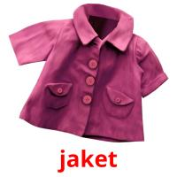 jaket picture flashcards