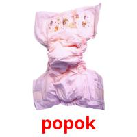 popok picture flashcards
