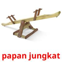 papan jungkat picture flashcards