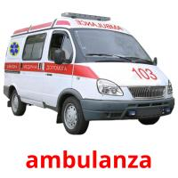 ambulanza picture flashcards