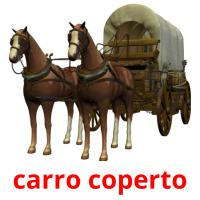 carro coperto picture flashcards
