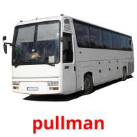 pullman picture flashcards