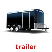 trailer picture flashcards