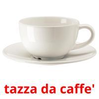 tazza da caffe' picture flashcards