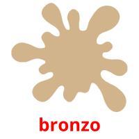 bronzo picture flashcards