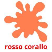 rosso corallo picture flashcards