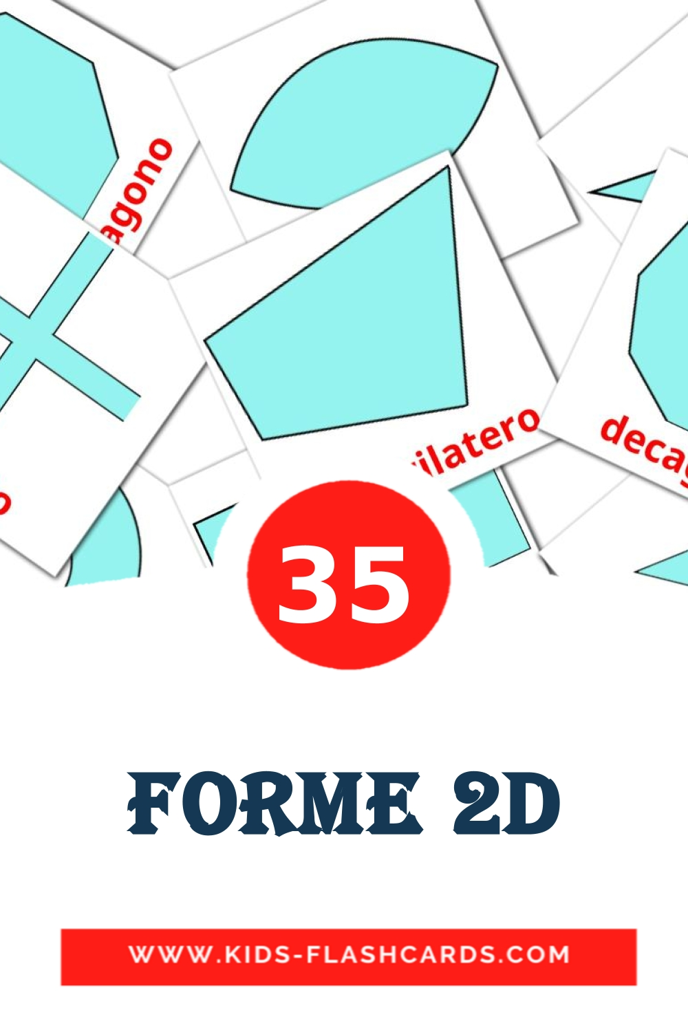 Forme 2D - free cards in italian