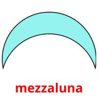 mezzaluna picture flashcards
