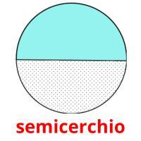 semicerchio picture flashcards
