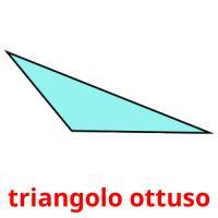 triangolo ottuso picture flashcards