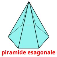 piramide esagonale picture flashcards