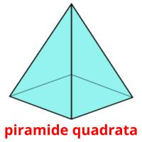 piramide quadrata picture flashcards