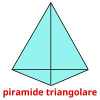 piramide triangolare picture flashcards