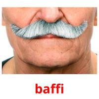 baffi picture flashcards
