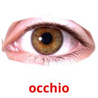 occhio picture flashcards