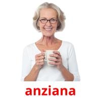 anziana picture flashcards