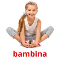 bambina picture flashcards