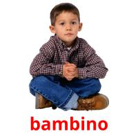 bambino picture flashcards